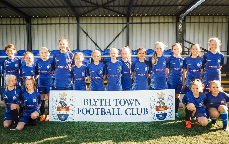 Blyth Under 12 Girls Football Team Sponsorship